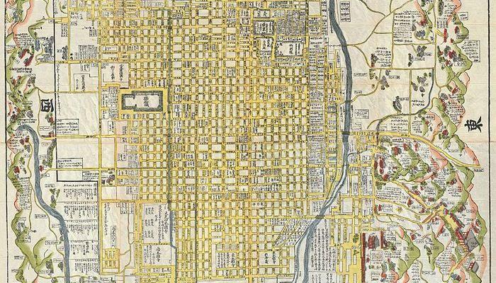 Old Japanese Maps Rekishi Nippon