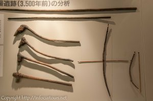 Jomon hunting weapons