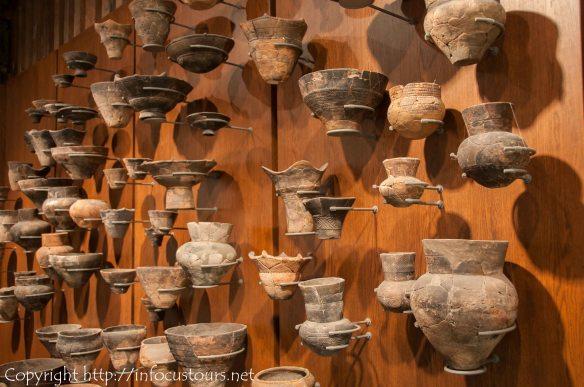 Jomon pottery found in the Otaru region in Hokkaido