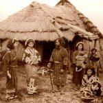 Ainu villagers