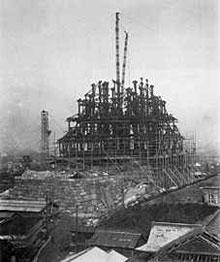 osaka_castle rebuild