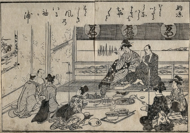 A_scene_in_a_Japanese_tea_house_Wellcome_V0046678.jpg