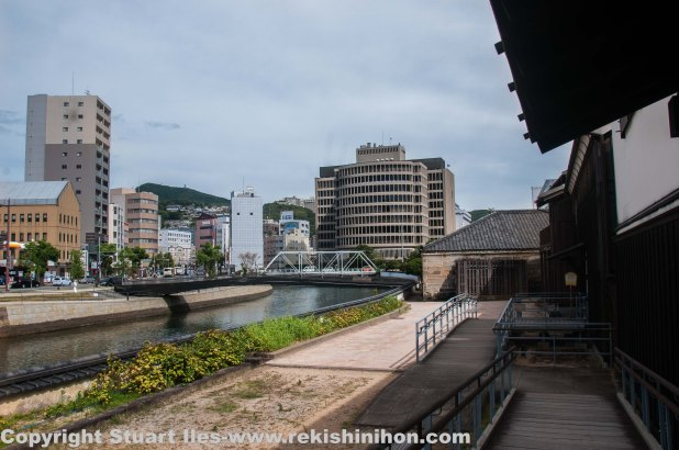 The one and only bridge to the Japanese mainland