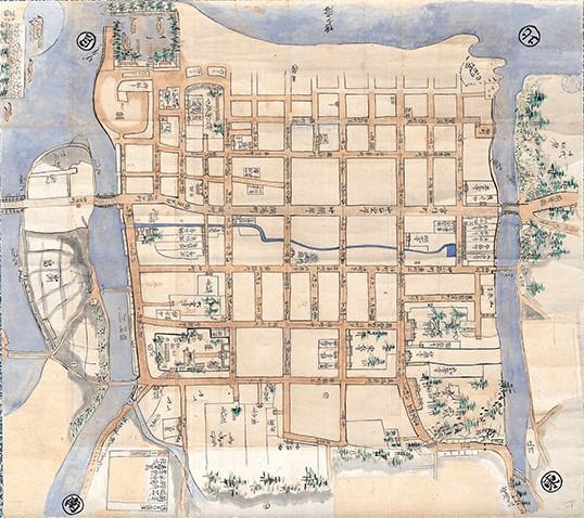 old hakata map