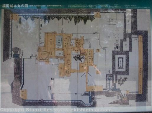 Map of the honmaru