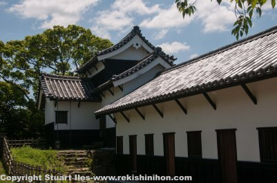 Tamon yagura (south)