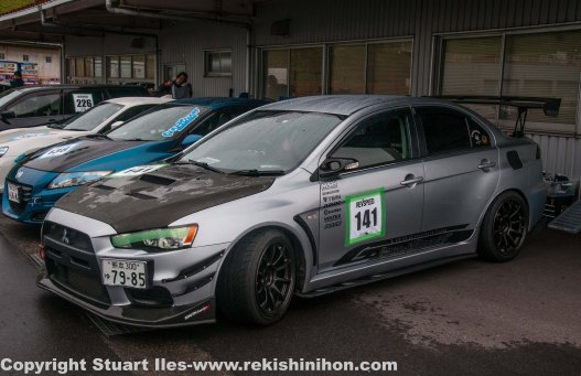 EVO X looked good