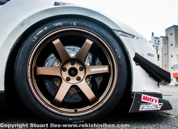 GTR showing some serious brakes