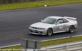 The only R33 GTR on the day