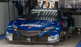 #17 NSX, pole position winner