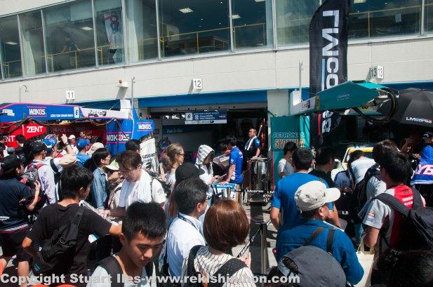 Popular teams were crowded