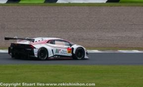 GT300 2nd place, Huracan GT3