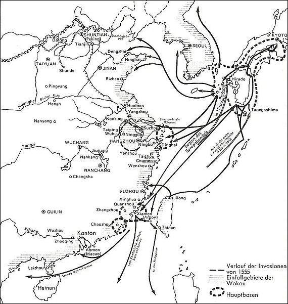 1555 wako invasions